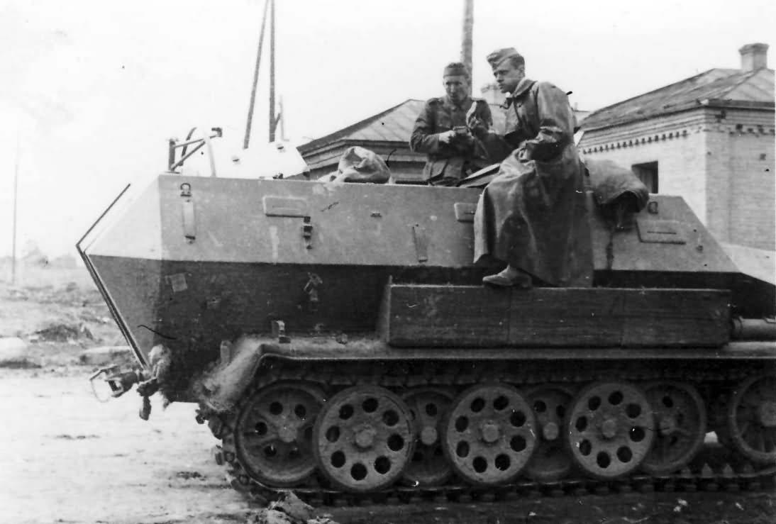 Hanomag Sdkfz 251 Ausf A SPW