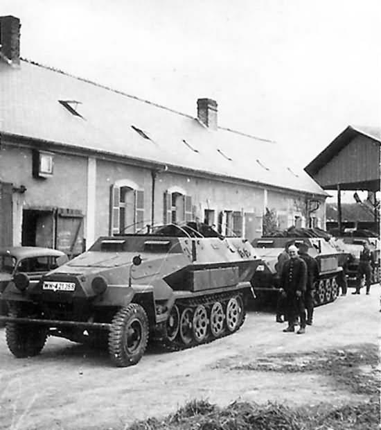 Hanomag Sdkfz 251 Ausf A halftracks