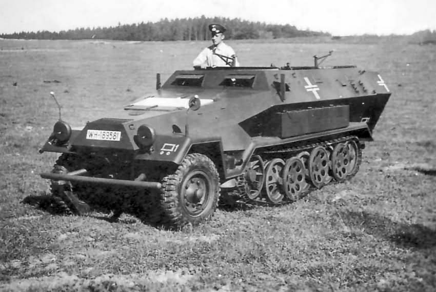 Mittlerer Schutzenpanzerwagen Sdkfz 251