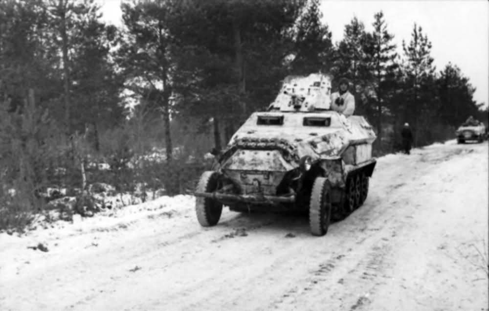 SdKfz 251/10 Schutzenpanzerwagen with Pak gun Russia 1941