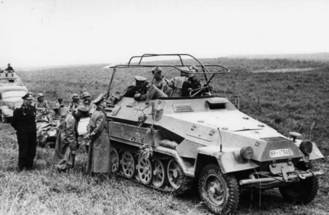 SdKfz 251/6 Ausf A France Heinz Guderian