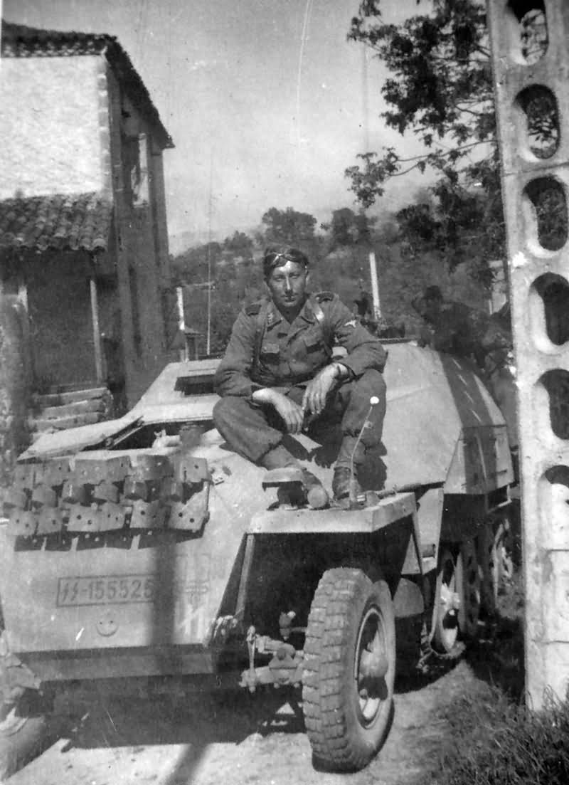 SdKfz 251 Ausf D of the Waffen SS 2nd SS Panzer Division Das Reich France 1944