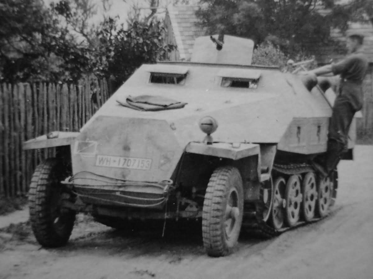 SdKfz 251 Ausf D Wehrmacht