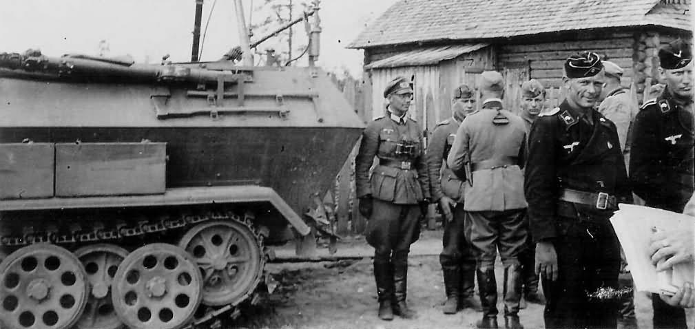 SdKfz 251 Ausf B Russia