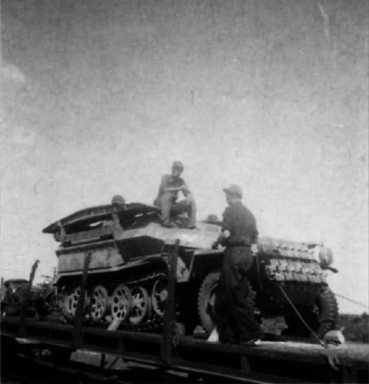 SdKfz 251 assault version