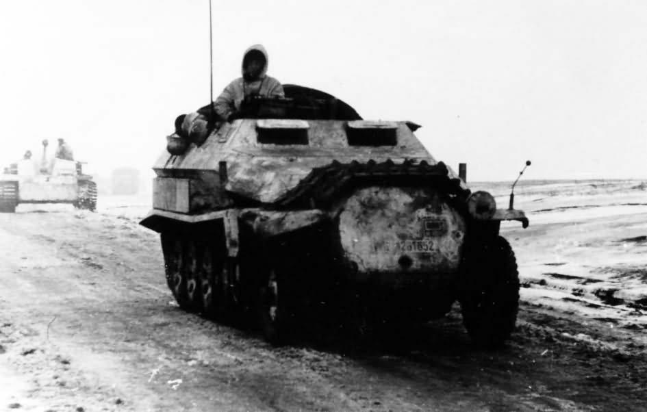 SdKfz 251 ausf C winter