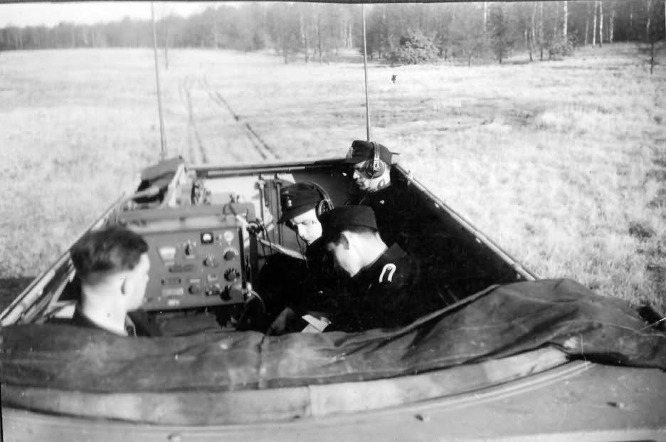 SdKfz 251 interior photo 2