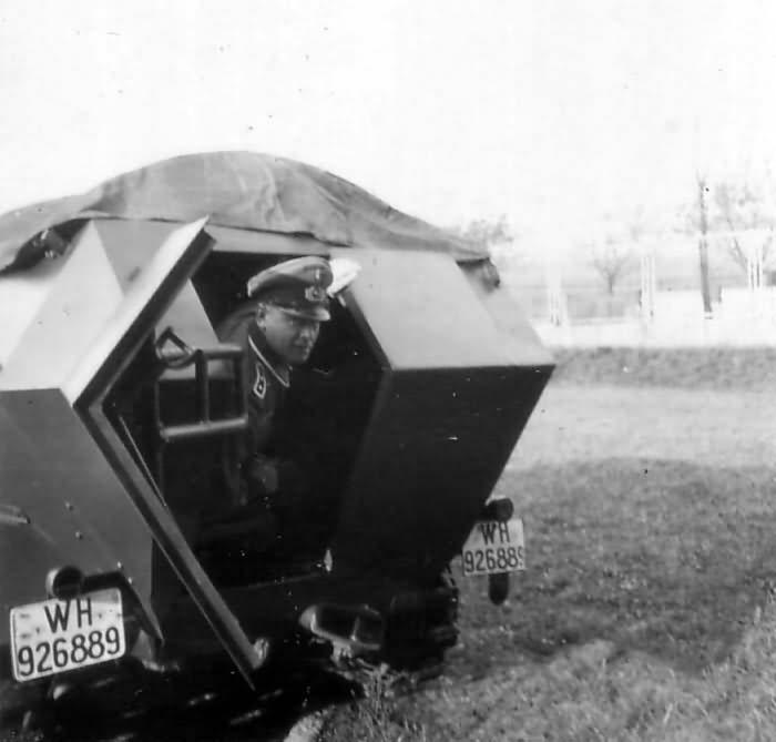 SdKfz 251 rear