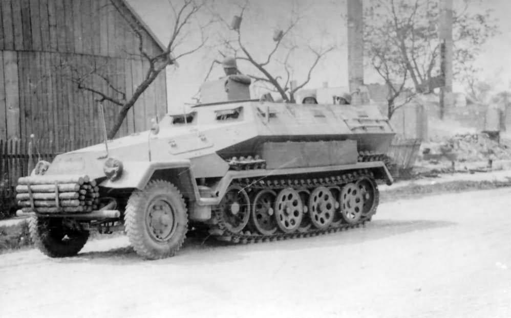 Sd Kfz 251 ausf A