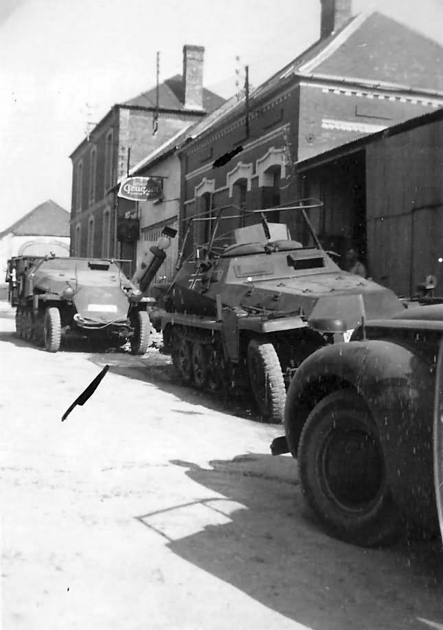 Halftrack Sd Kfz 251 Mittlerer Funkpanzerwagen