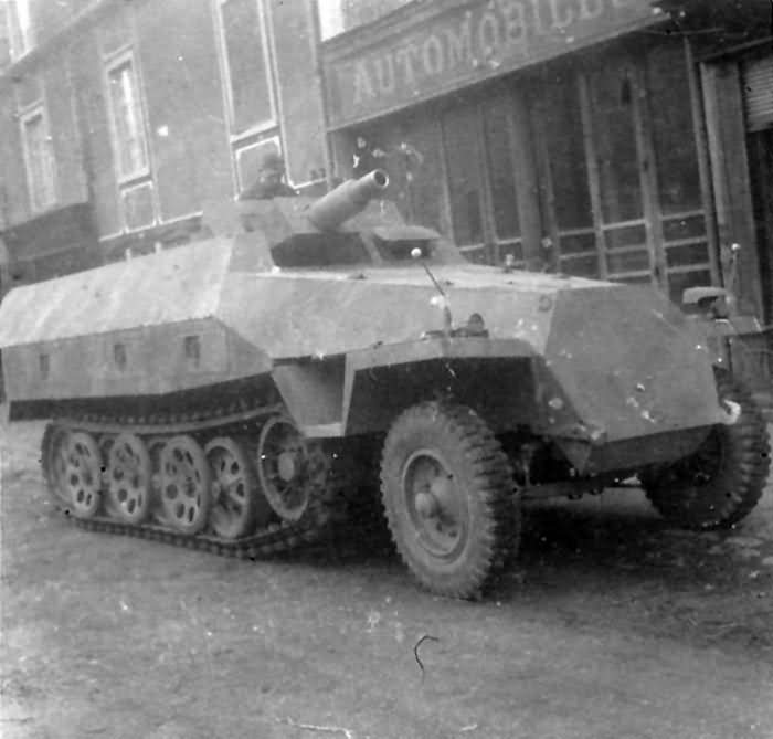 Sdkfz 251 ausf D Stummel