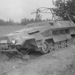 Destroyed SdKfz 251 Ausf B