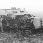 Destroyed SdKfz 251 Ausf C