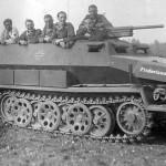SdKfz 251/10 Ausf C named Fredericus Rex
