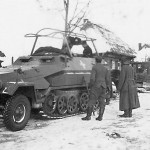 Sd.Kfz. 251/3 Communications Vehicle Schutzenpanzerwagen WH-642217 Russia winter