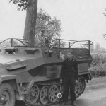 SdKfz 251/6 Ausf A Command version