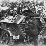 SdKfz 251/6 Ausf A rear view France 1940