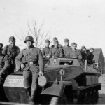 SdKfz 251 Ausf A with crew