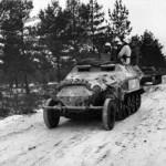 SdKfz 251 Ausf B Schutzenpanzerwagen winter Russsia 1941