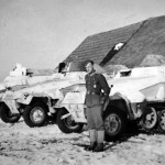SdKfz 251 Ausf B with winter camo
