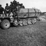 SdKfz 251 Ausf C number 153