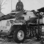 SdKfz 251 Ausf C winter camo