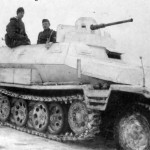 SdKfz 251 Ausf C with winter camouflage