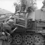 SdKfz 251 Stuka zu Fuss 24th Panzer Division eastern front 1942