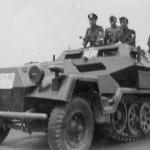 german half track SdKfz 251 Ausf B