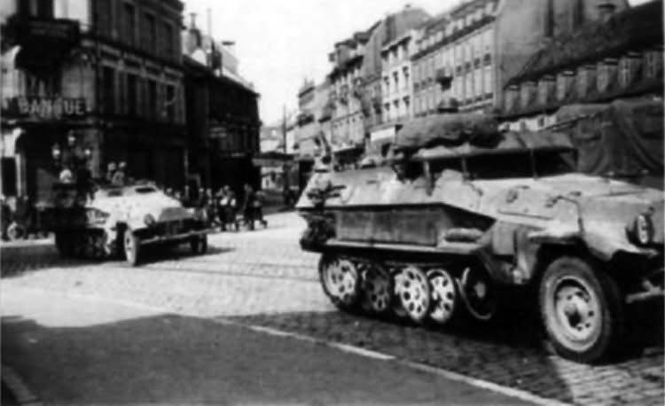 german half tracks SdKfz 251