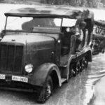 Early SdKfz 6 halftrack