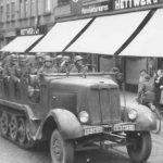 SdKfz 6 of the Artillerie-Regiment 75 in Eberswalde 1939