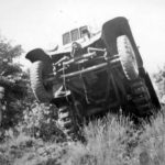 German halftrack Sd.Kfz. 6 during trials