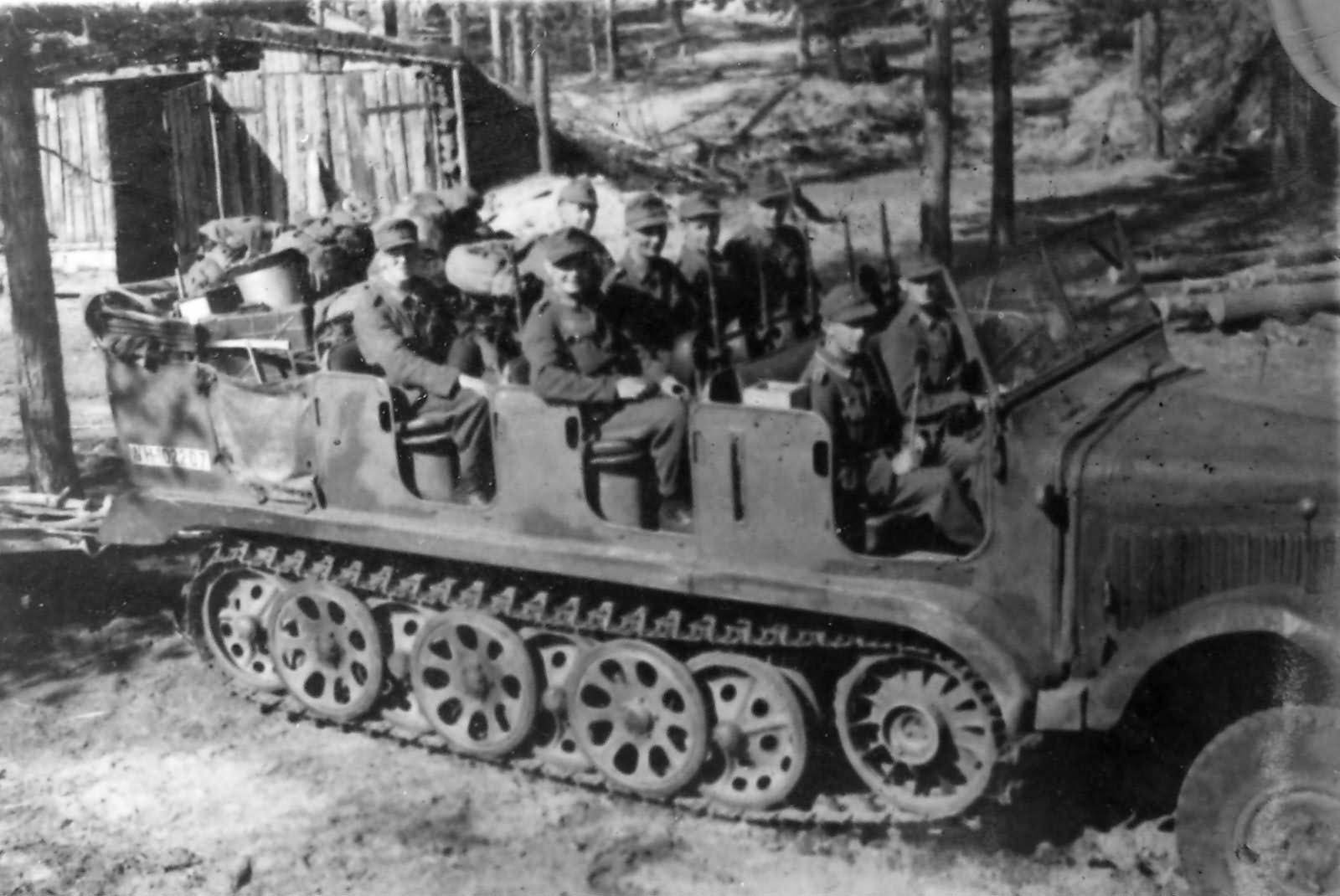 Image result for German sdkfz 6 half track