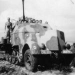 Armored SdKfz 7/2 of the Luftwaffe WL-106408