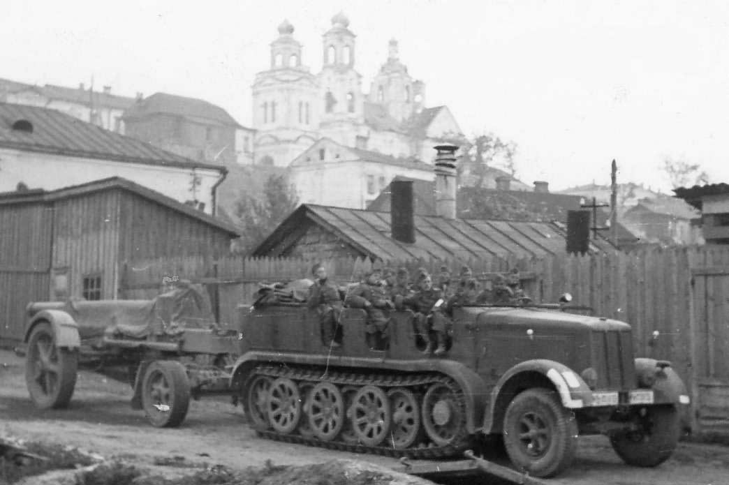 Image result for sdkfz 7 half track