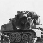 8,8 cm Flak 18 Selbstfahrlafette auf Zugkraftwagen 12t SdKfz 8 rear