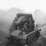 8,8 cm Flak 18 Selbstfahrlafette auf Zugkraftwagen 12t SdKfz 8 rear view