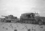 Sd.Kfz. 8 towing a gun Afrika korps DAK