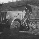 Sdkfz 8 heavy halftrack Luftwaffe unit 1943