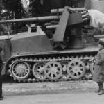 8,8 cm Flak 18 (Sfl.) auf Zugkraftwagen 12t Sd.Kfz. 8 Halftrack side view