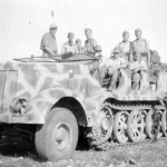 Sd Kfz 8 with camouflage Italy 1944