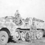 SdKfz 8 camouflage Italy 1944