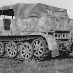 SdKfz 8 halftrack Italy 1944