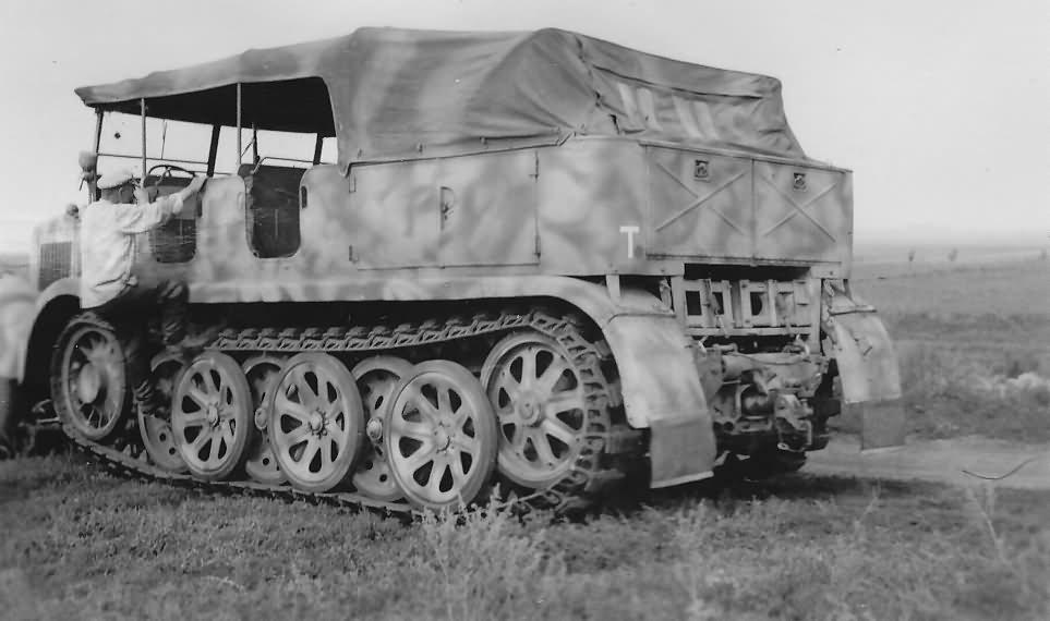 Sd Kfz 8 german wehrmacht half...