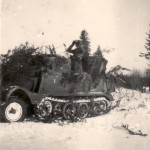 leichter Zugkraftwagen 3t Sdkfz 11 german light halftrack photo
