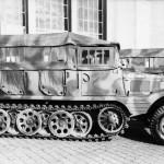 SdKfz 11 mit Mannschaftsaufbau (superstructure for crew transport) 1940