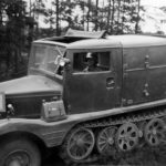 Sdkfz 11 Artillerieaufbau (artillery body with ammunition compartment)