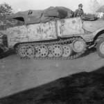 leichter Zugkraftwagen 3t Sdkfz 11 german light halftrack