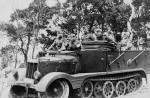 leichte zugkraftwagen 3t Sd.Kfz.11 mit Pionieraufbau German halftrack